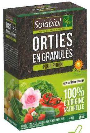 Orties en granules - Purin d ortie fabrication ...